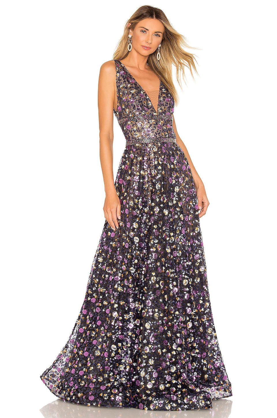Bronx and Banco Barbara Gown in Multi