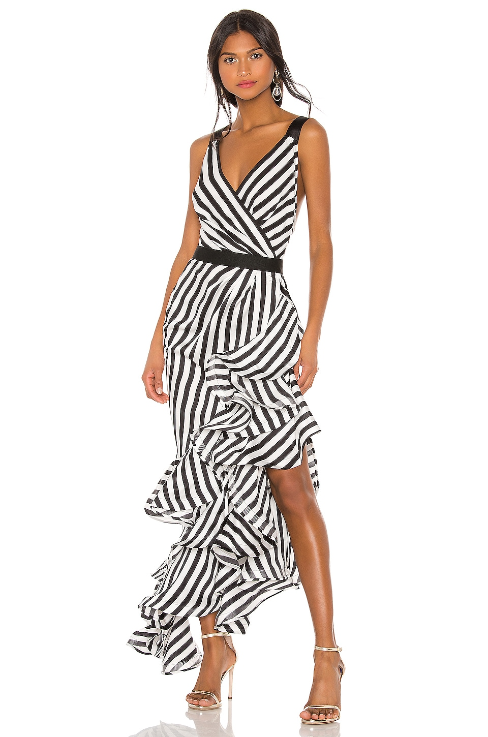 Bronx and Banco Lola Gown in Black & White