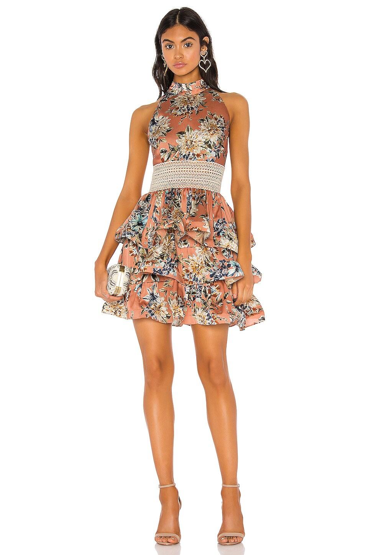 Bronx and Banco Bronty Mini Dress in Multi