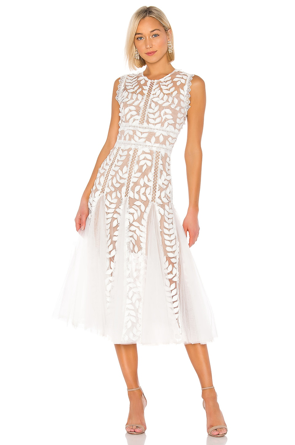 Saba Blanc Midi Dress             Bronx and Banco                                                                                                       CA$ 590.42 19
