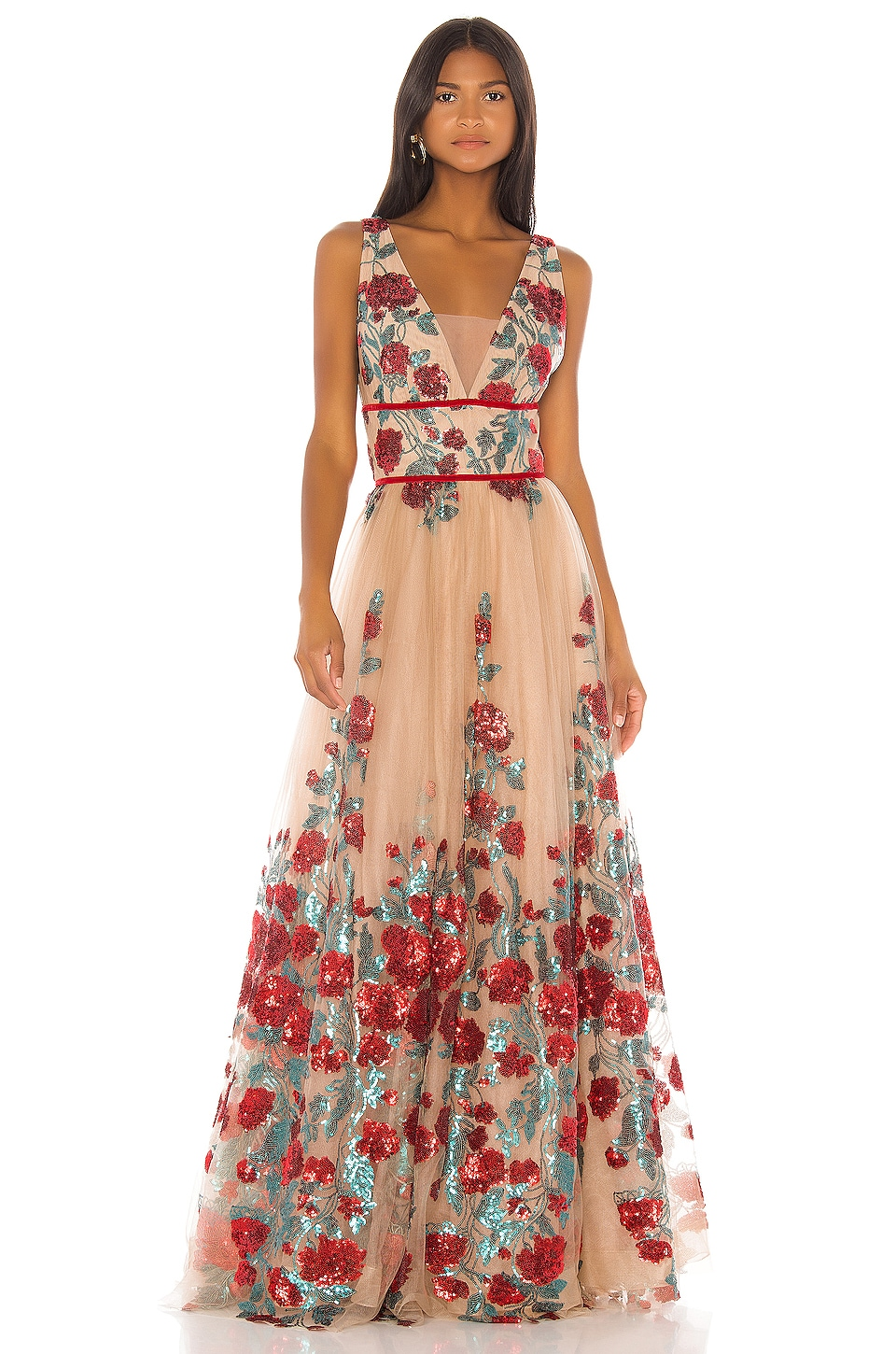 Bronx and Banco Rafaella Gown in Multi