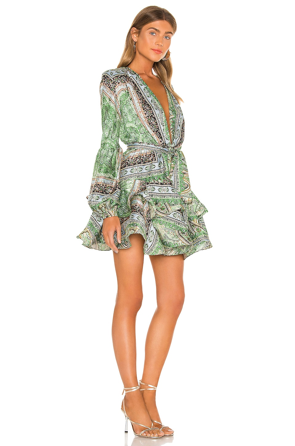 Bedouin Mini Dress, view 2, click to view large image.