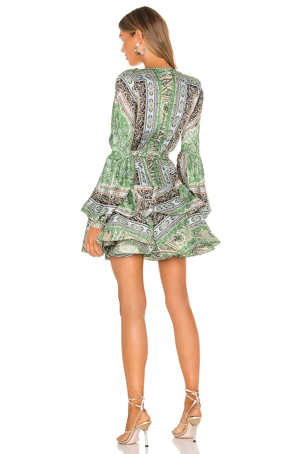 Bedouin Mini Dress, view 3, click to view large image.