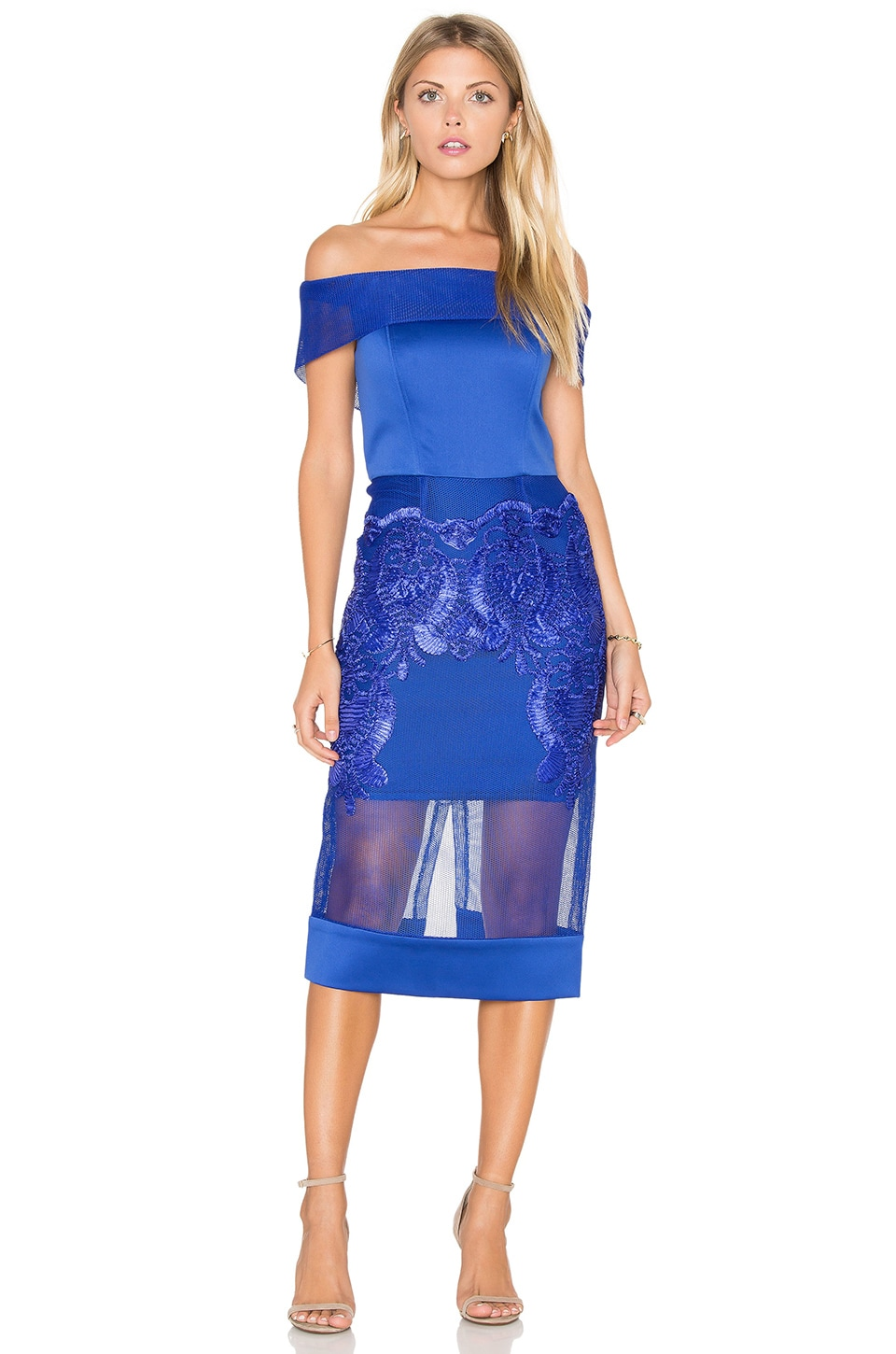 Piada Cobalt Dress by Bronx and Banco