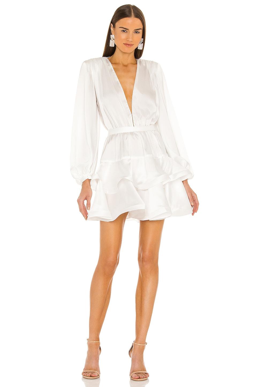 Bronx and Banco Bedouin Mini Dress in White