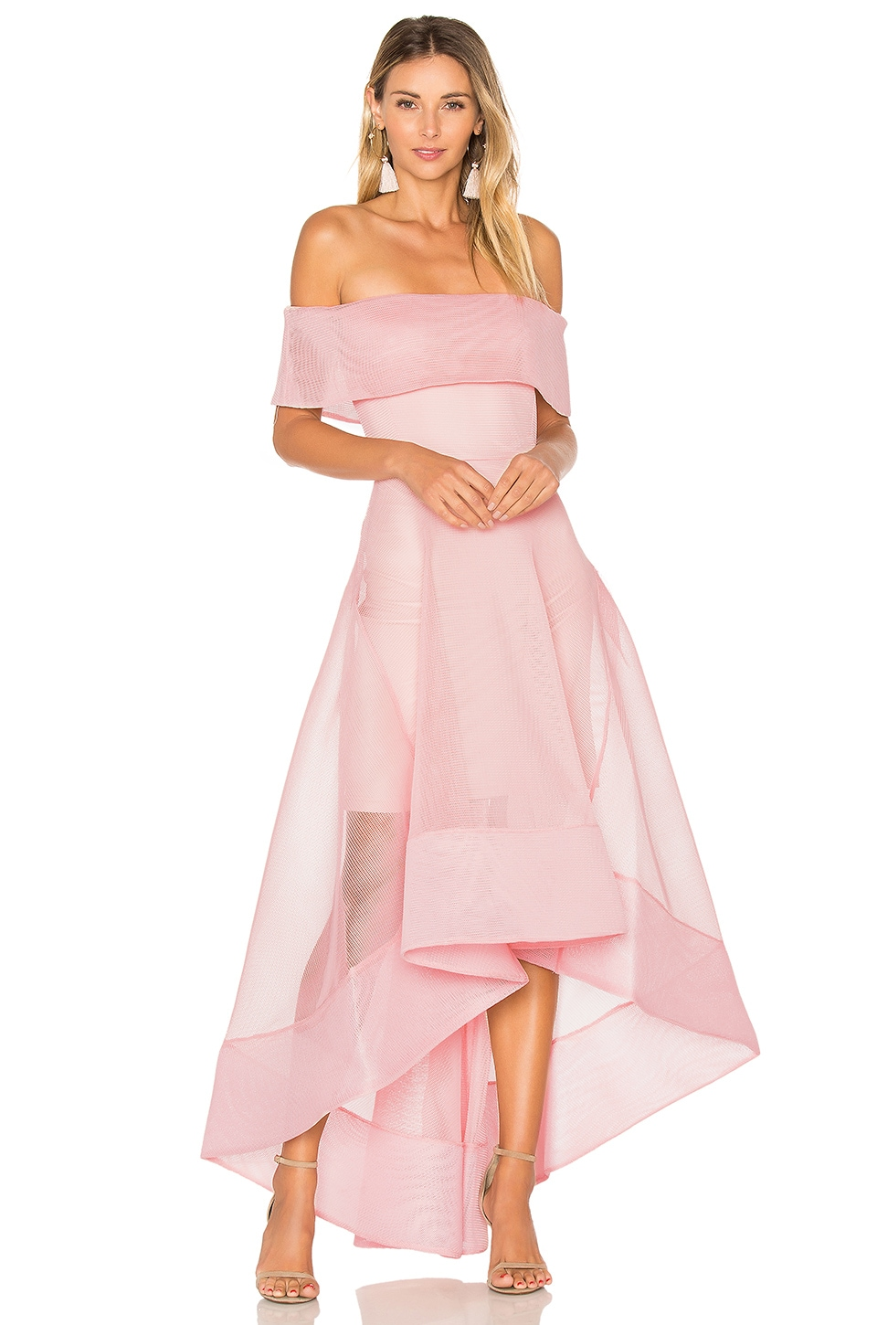 Bronx and Banco Tulip Dress in Blush