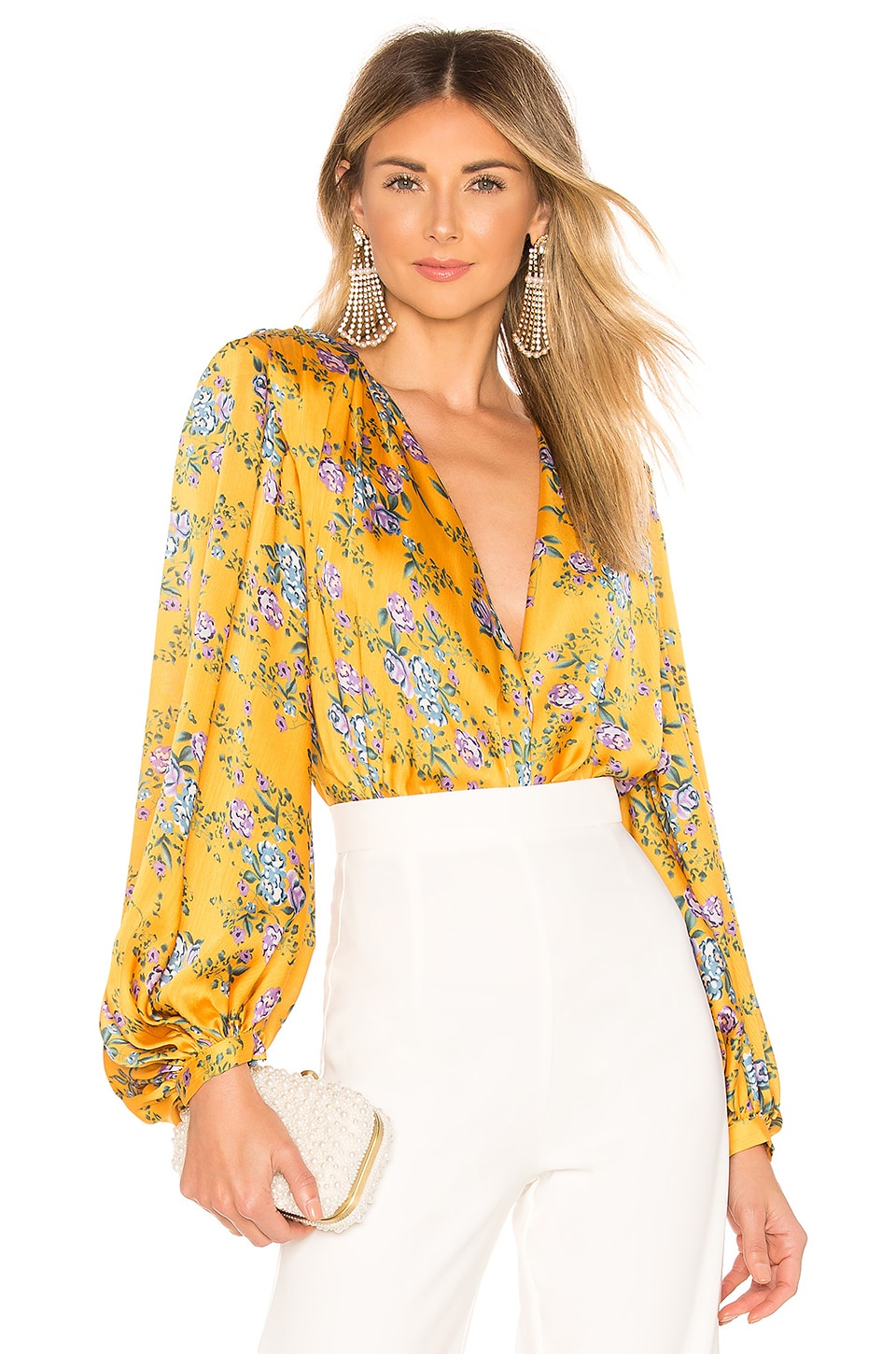 Bronx and Banco Hanna Blouse en Multicolor