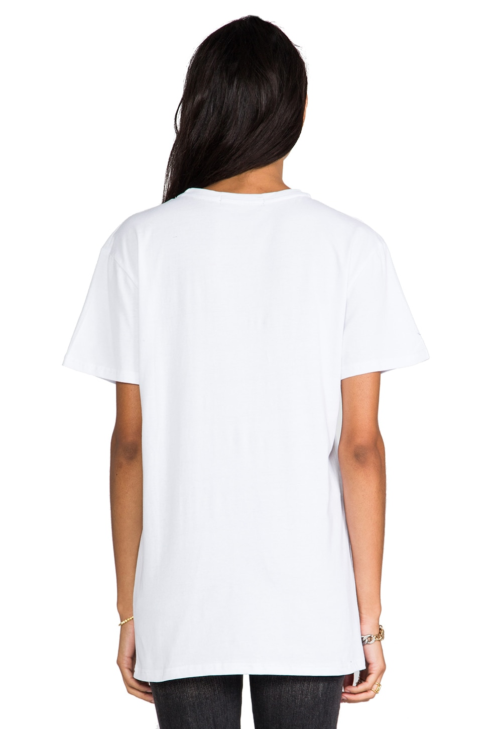 B-side by Wale Can I Live Tee in White/Black