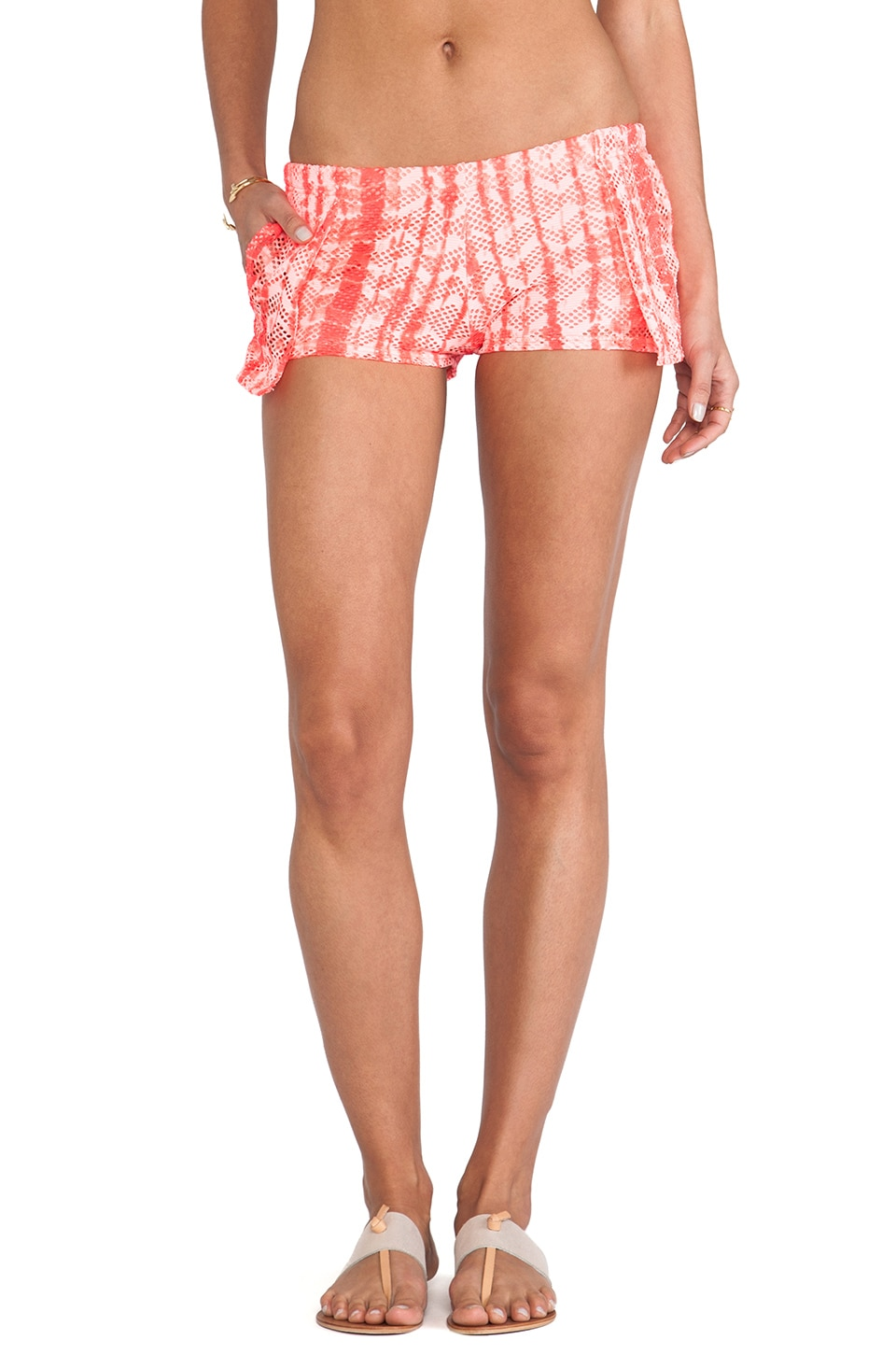 b.swim Sandy Shorts in Day Tripper Glow