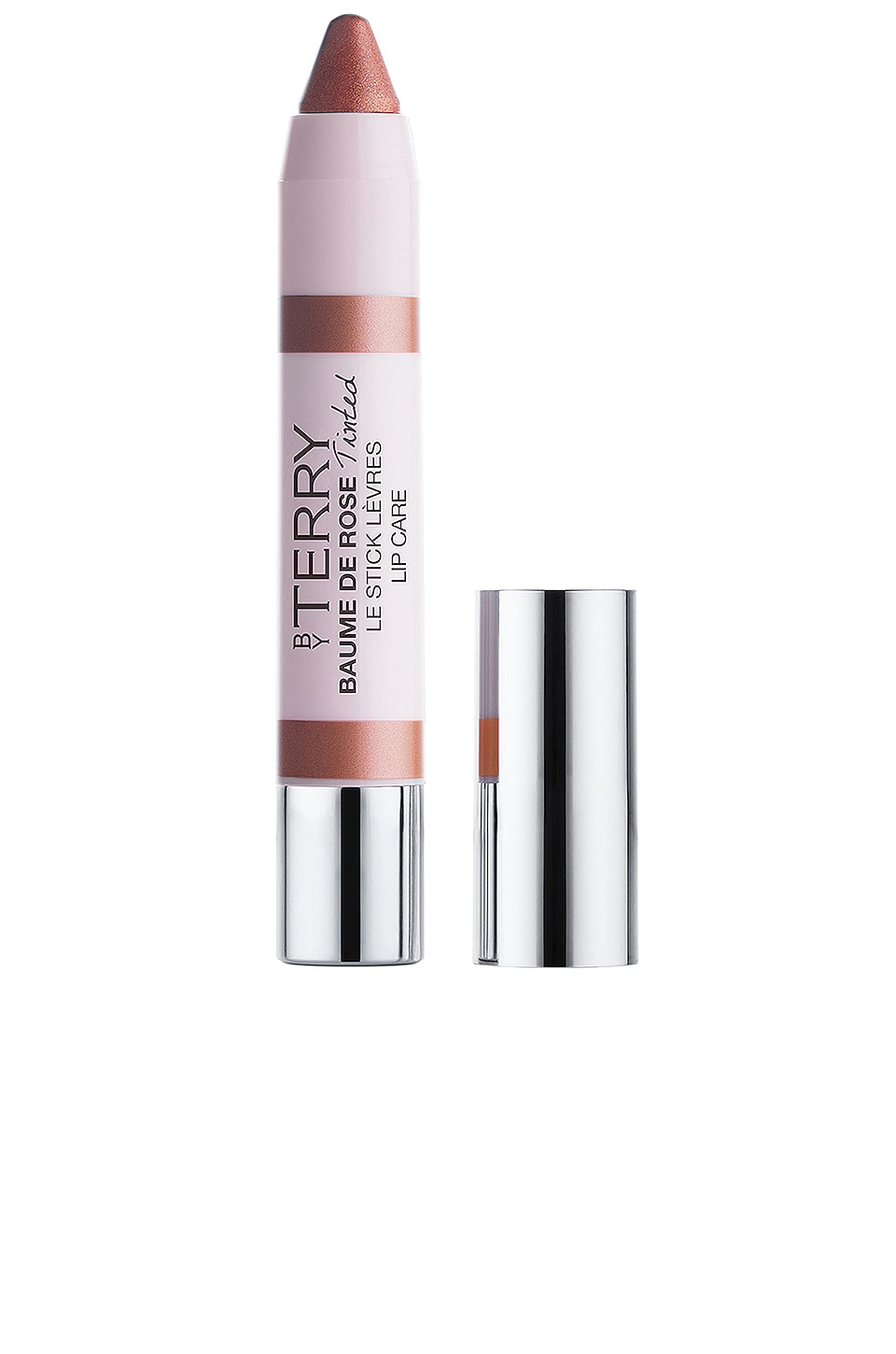 By Terry Baume De Rose Tinted Lip Crayon in Sunny Nude