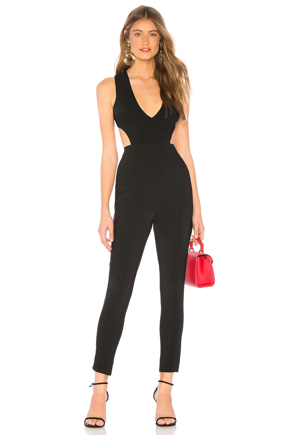 by the way. Farrah Cut Out Jumpsuit in Black