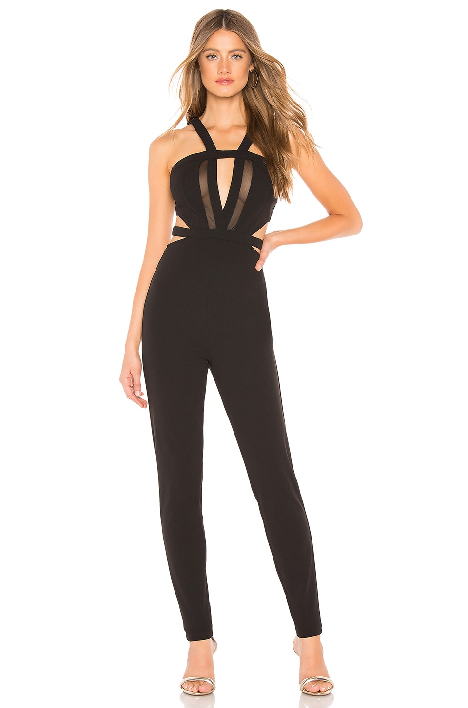 by the way. Andrea Cut Out Jumpsuit in Black