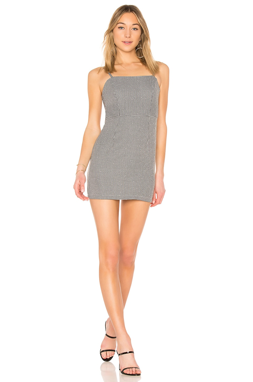 Isabelle Houndstooth Dress