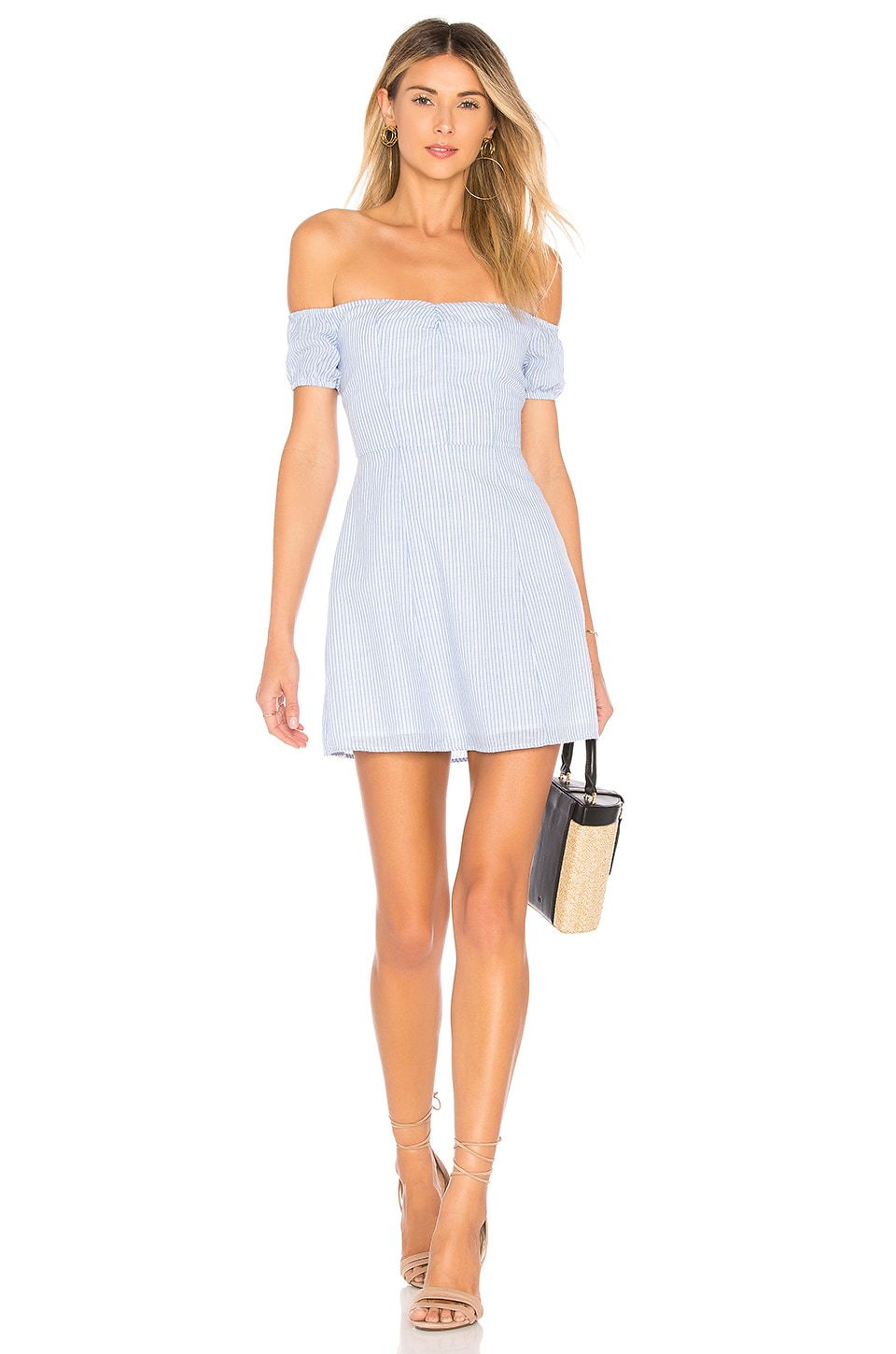 Leila Off Shoulder Dress