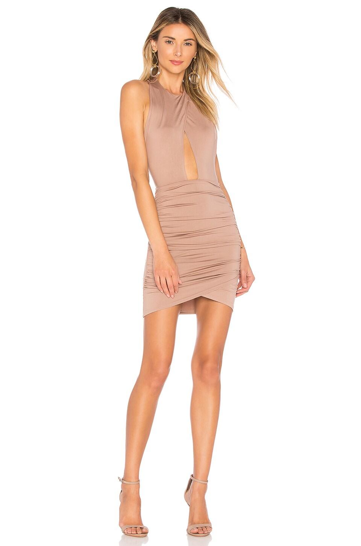Lauren Ruched Cut Out Dress