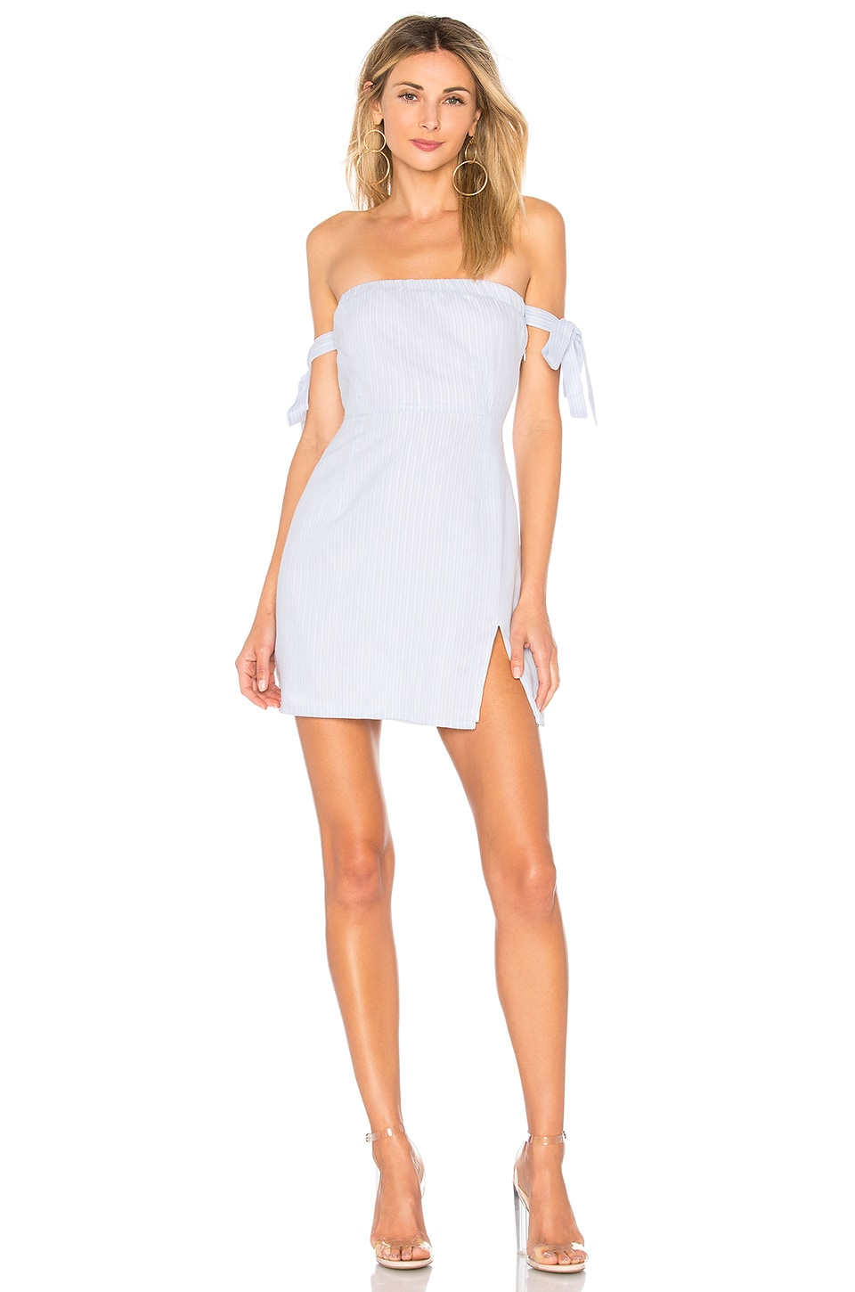 ATHENA OFF SHOULDER DRESS