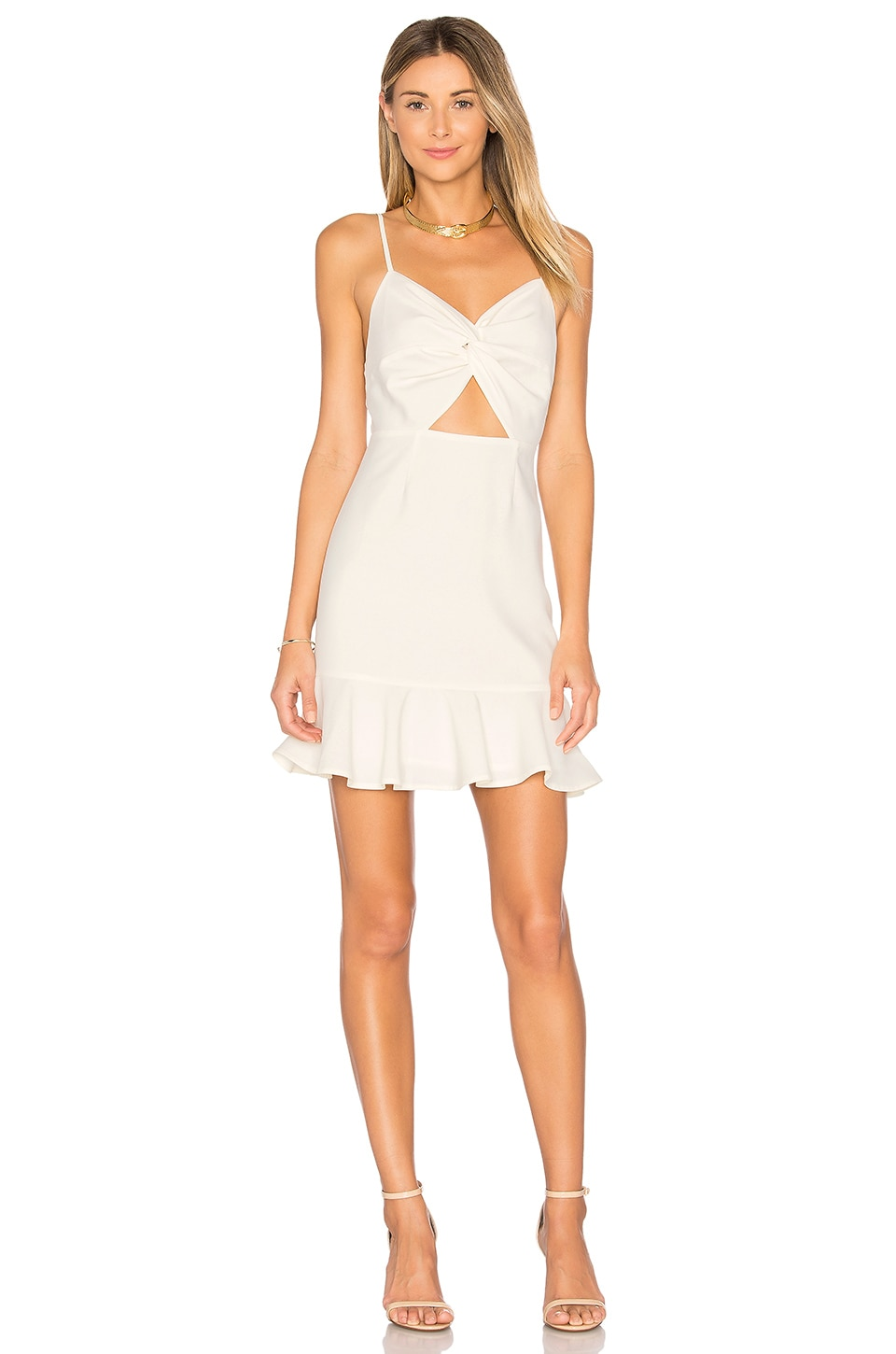 by the way. Francis Mini Dress in Cream