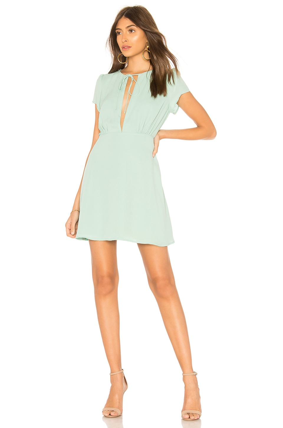 by the way. Elise Fit & Flare Dress in Seafoam