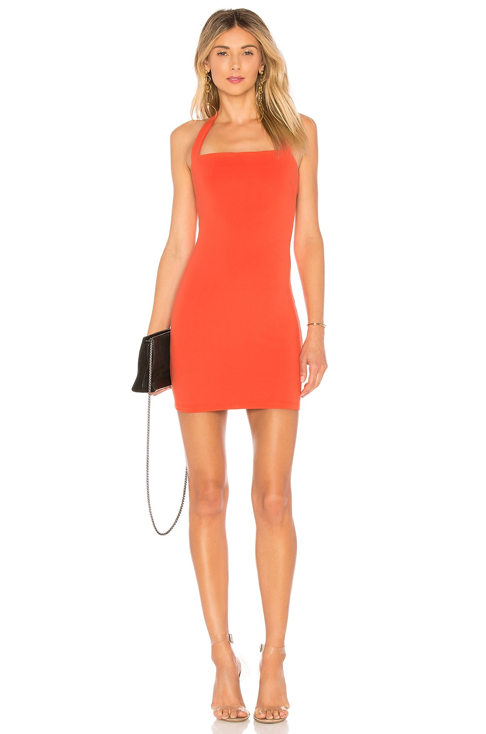 superdown Halley Bodycon Dress in Citrus