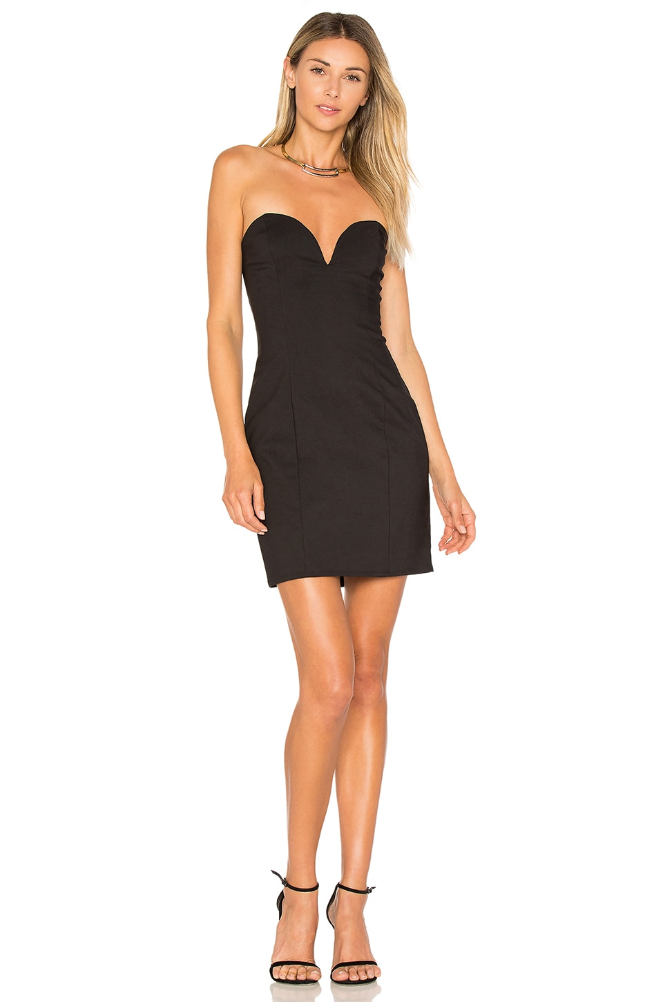 Alessia Sweetheart Bodycon Mini Dress by By The Way.