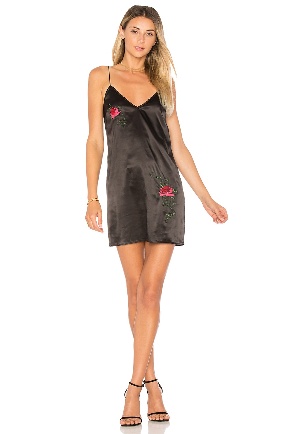 Kora Embroidered Cami Dress by By The Way.