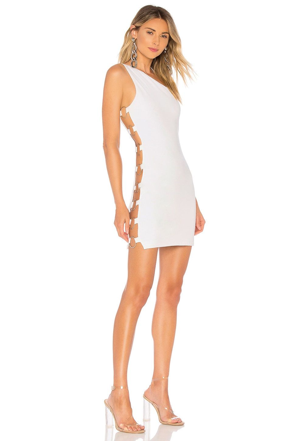 by the way. Stacie Side O Ring Bodycon in Ivory
