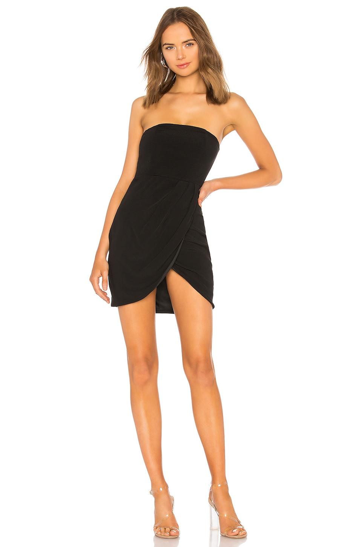 by the way. Rosalyn Tulip Dress in Black