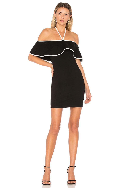 by the way. x REVOLVE Rei Mini Dress in Black