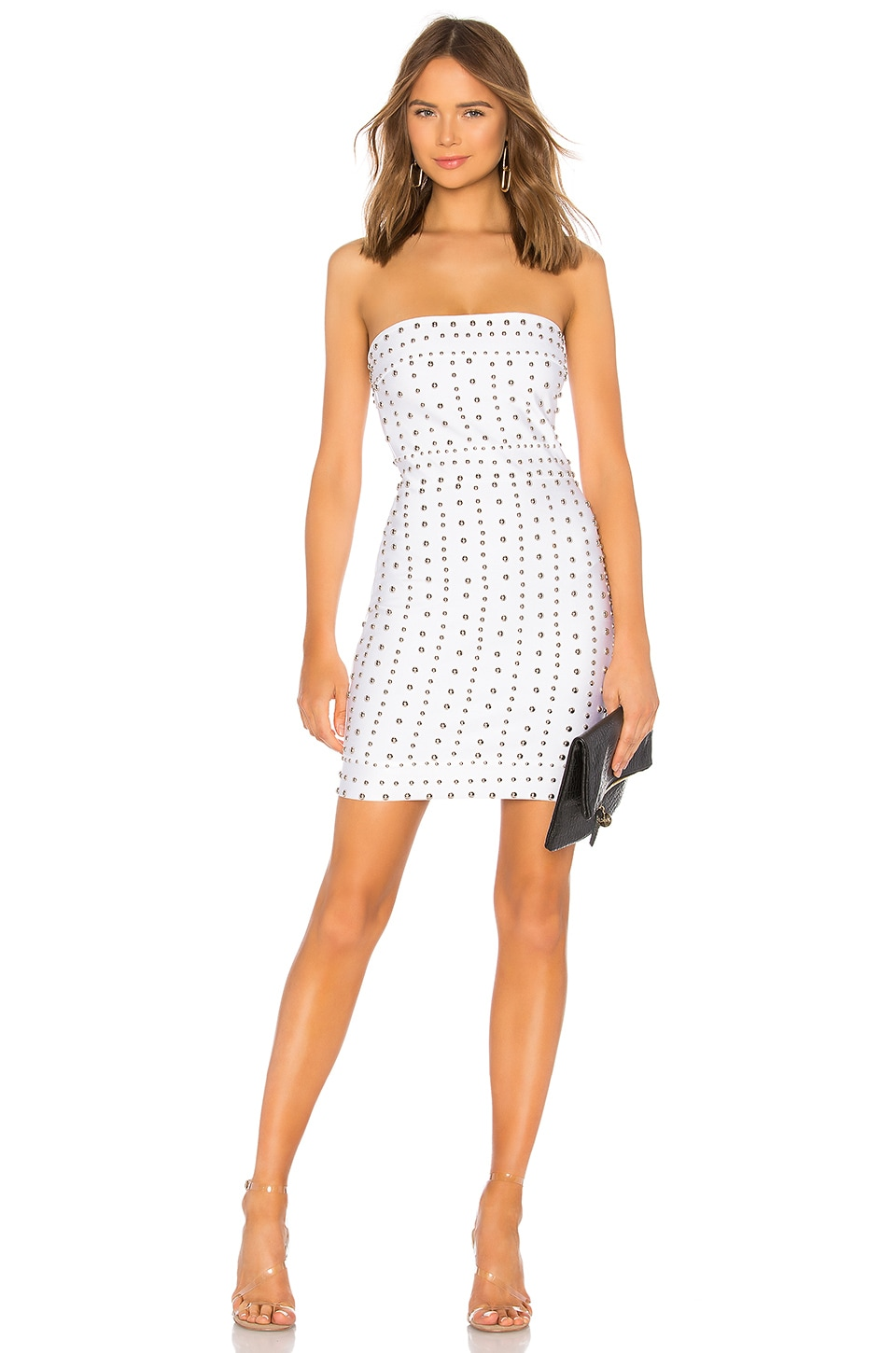 BLAKE STUDDED BANDAGE DRESS
