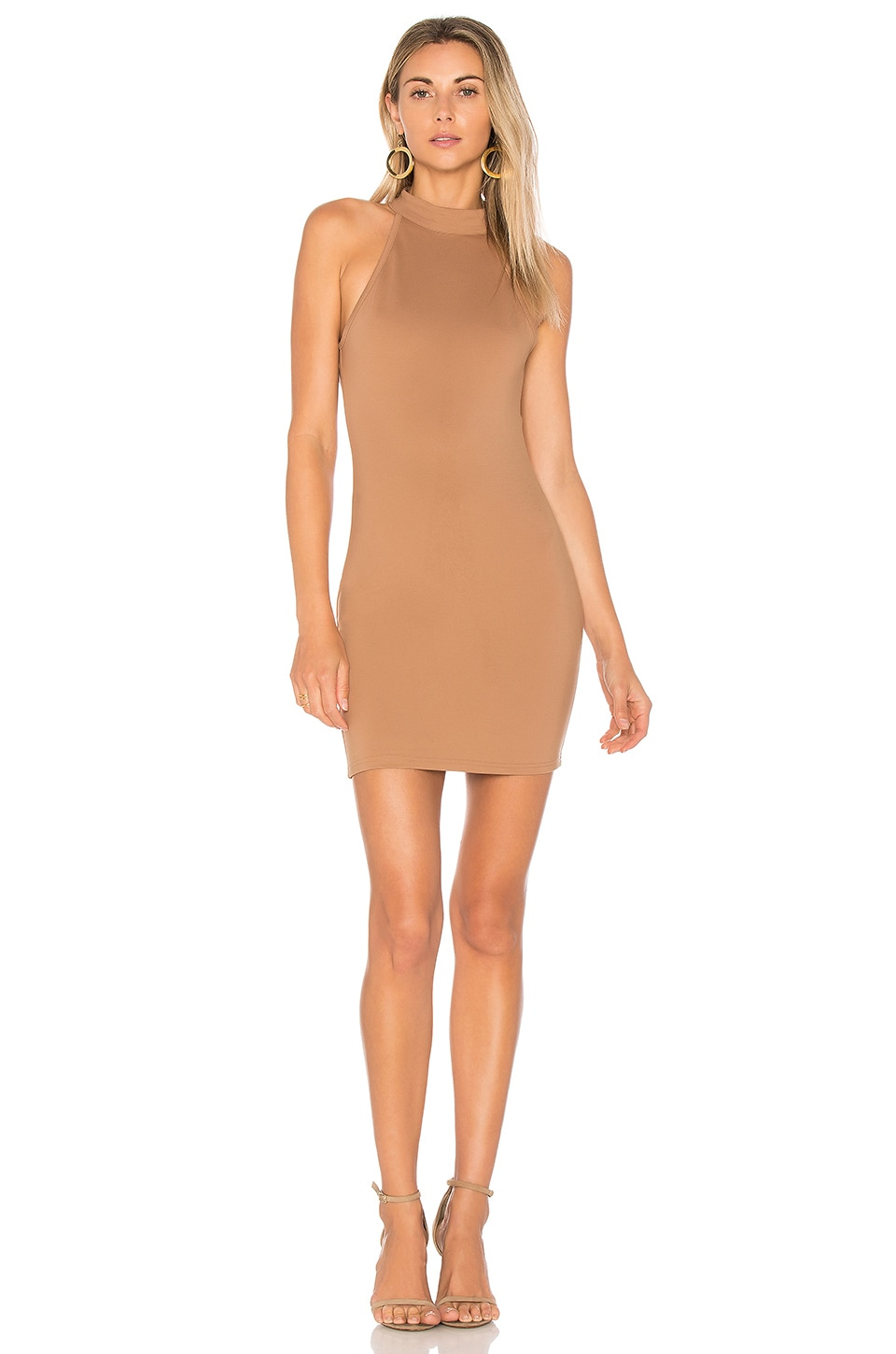 Gracia Halter Bodycon Dress by by the way.