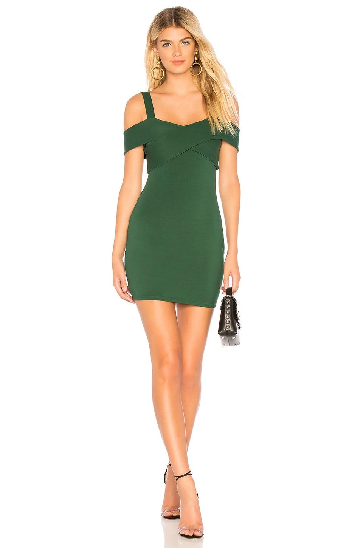 Evie Cold Shoulder Mini Dress