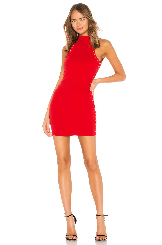 Deedee Grommet Mini Dress