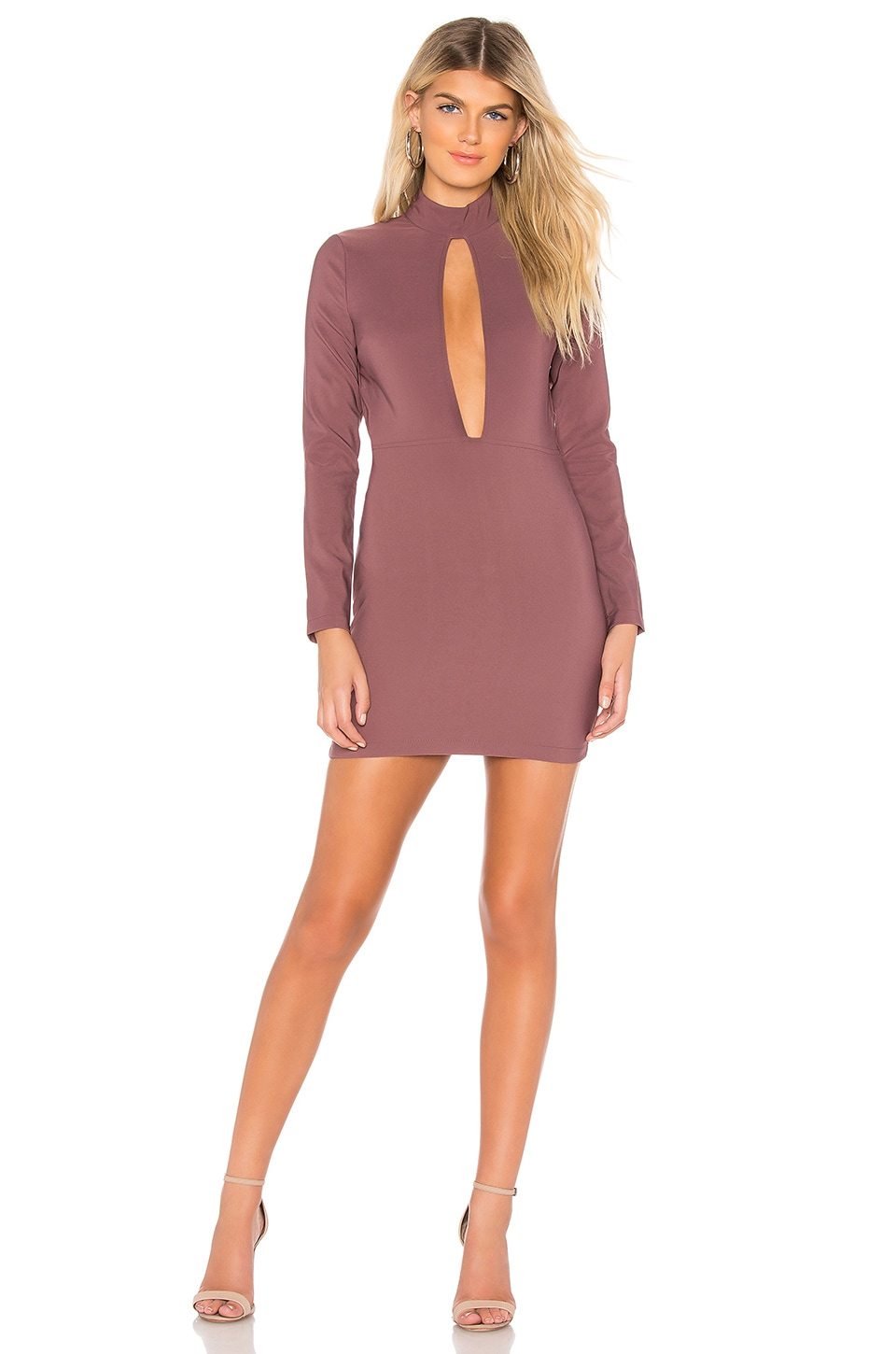 by the way. Lyssa Cut Out Dress in Plum Purple