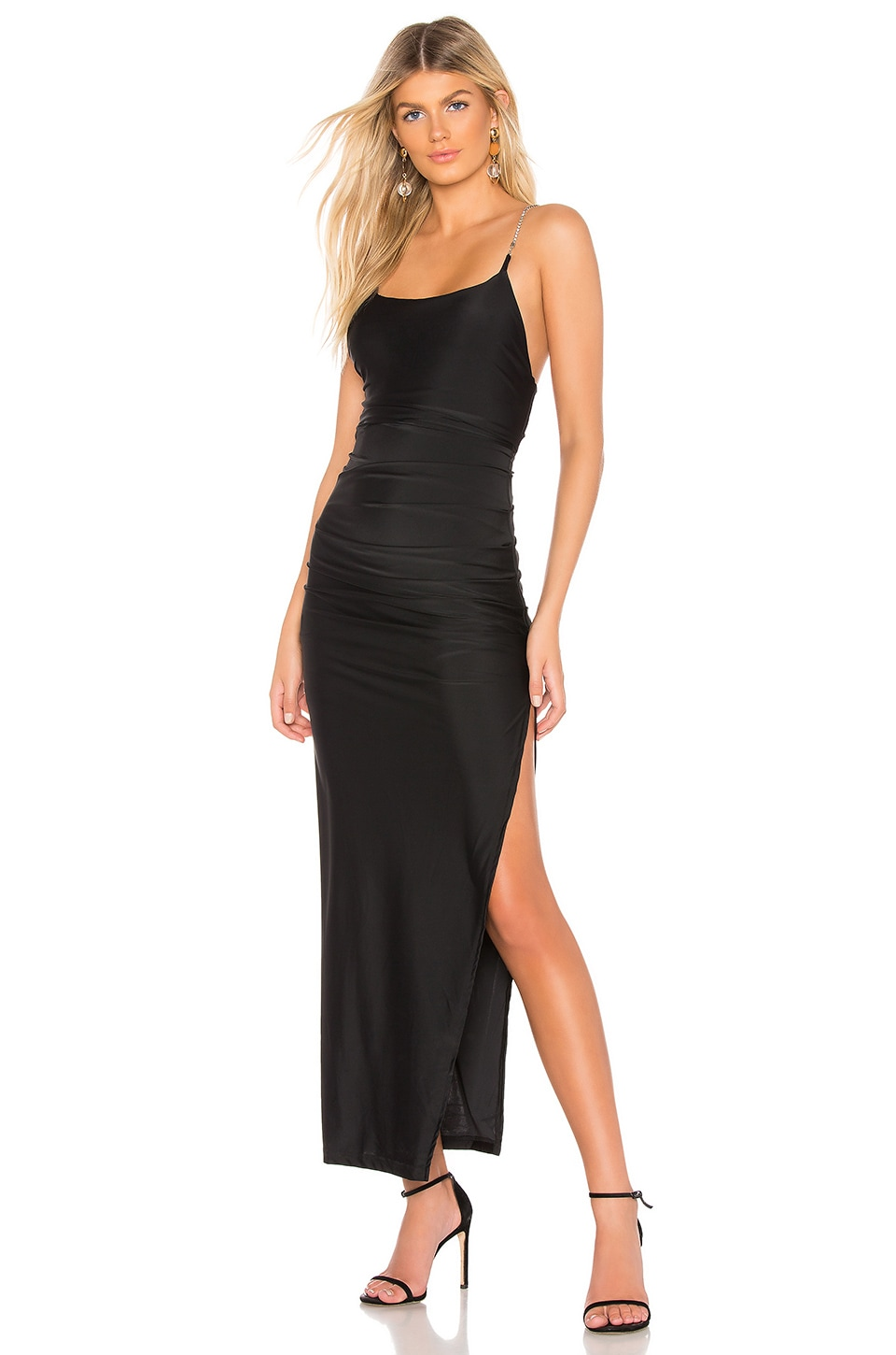 by the way. Jessica Maxi Dress en Black