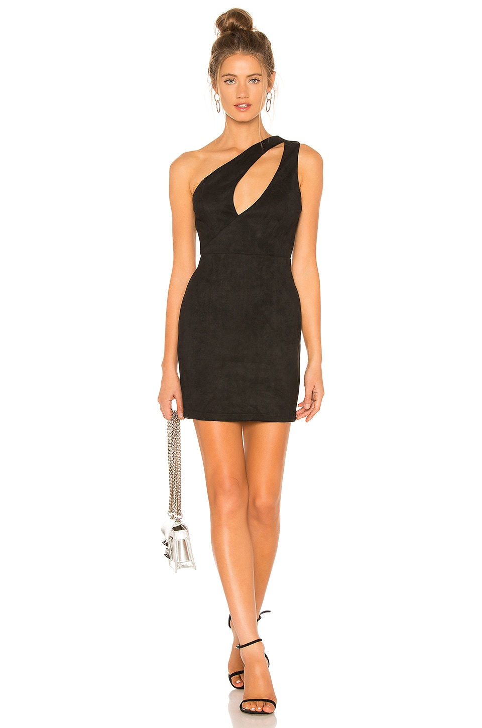 by the way. Isela Cut Out Mini Dress in Black