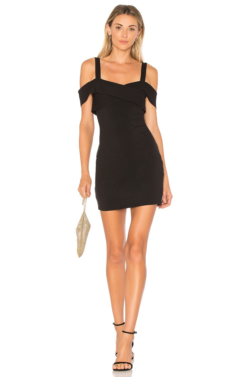 f14eb36696d3 by the way. Evie Cold Shoulder Mini Dress in Black | REVOLVE
