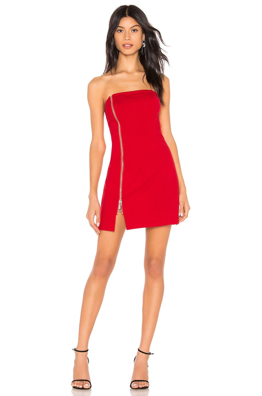 Melodie Strapless Zip Dress