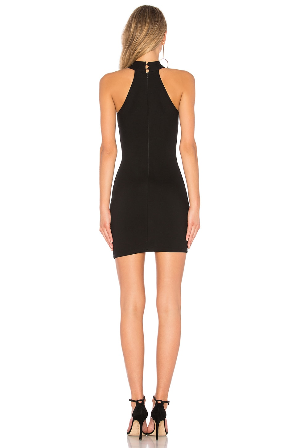 Tegan Wrap Mini Dress, view 3, click to view large image.