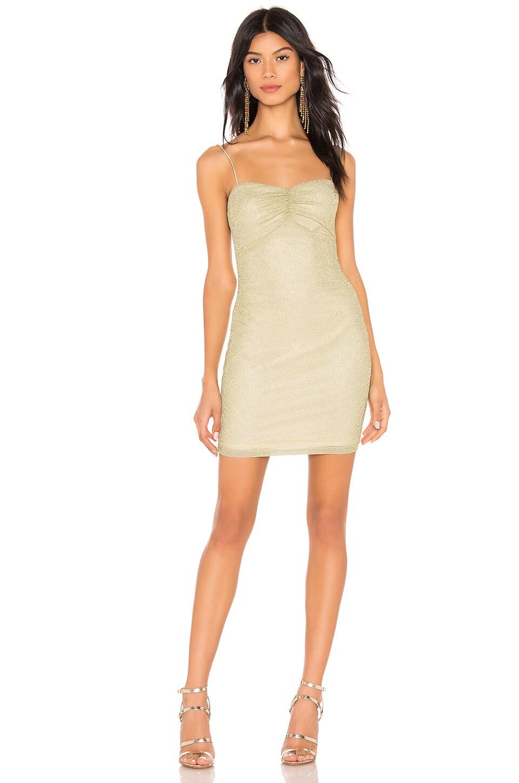 Aran Metallic Mini Dress