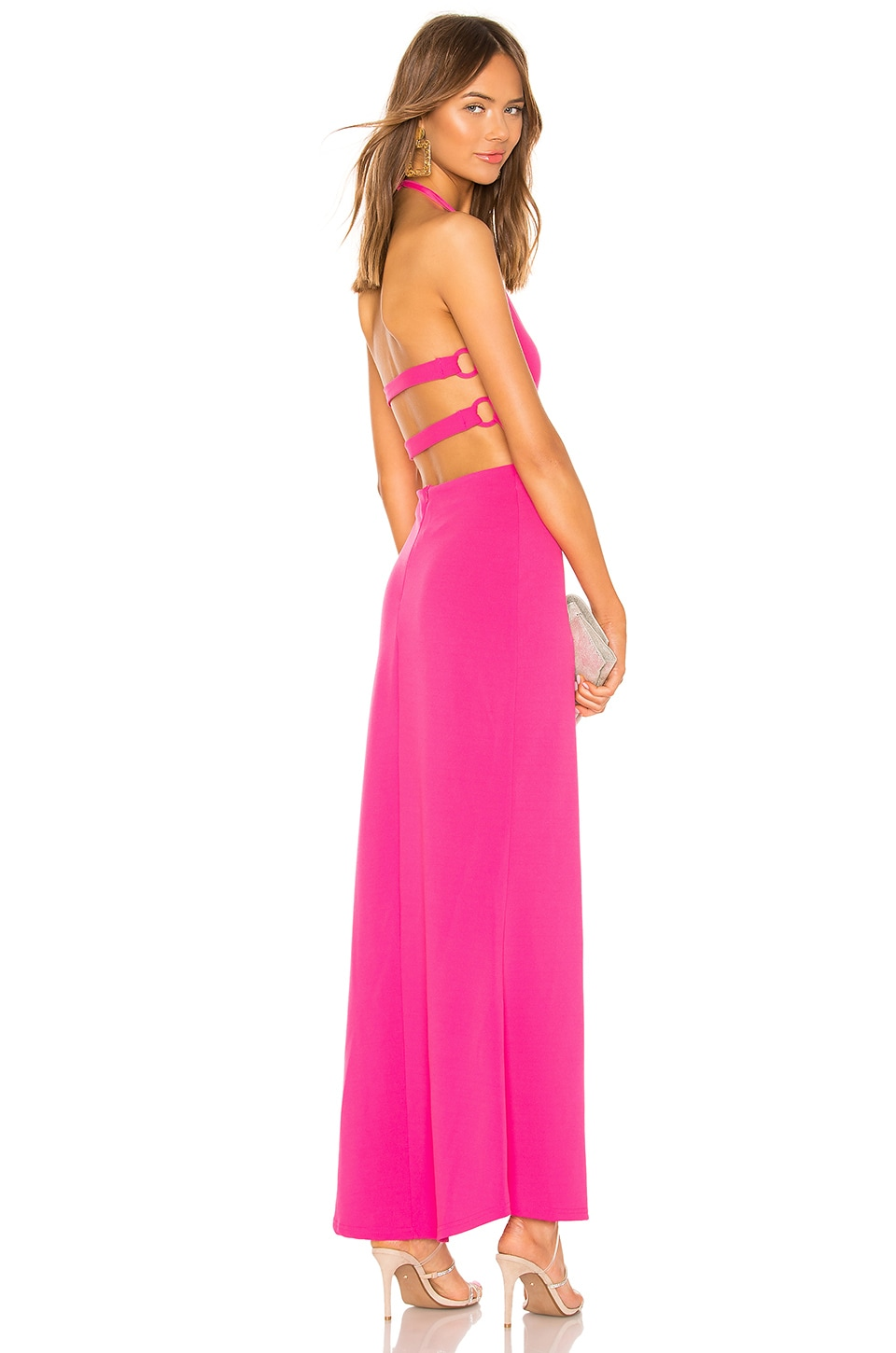 by the way. Brooklyn Maxi Dress in Hot Pink