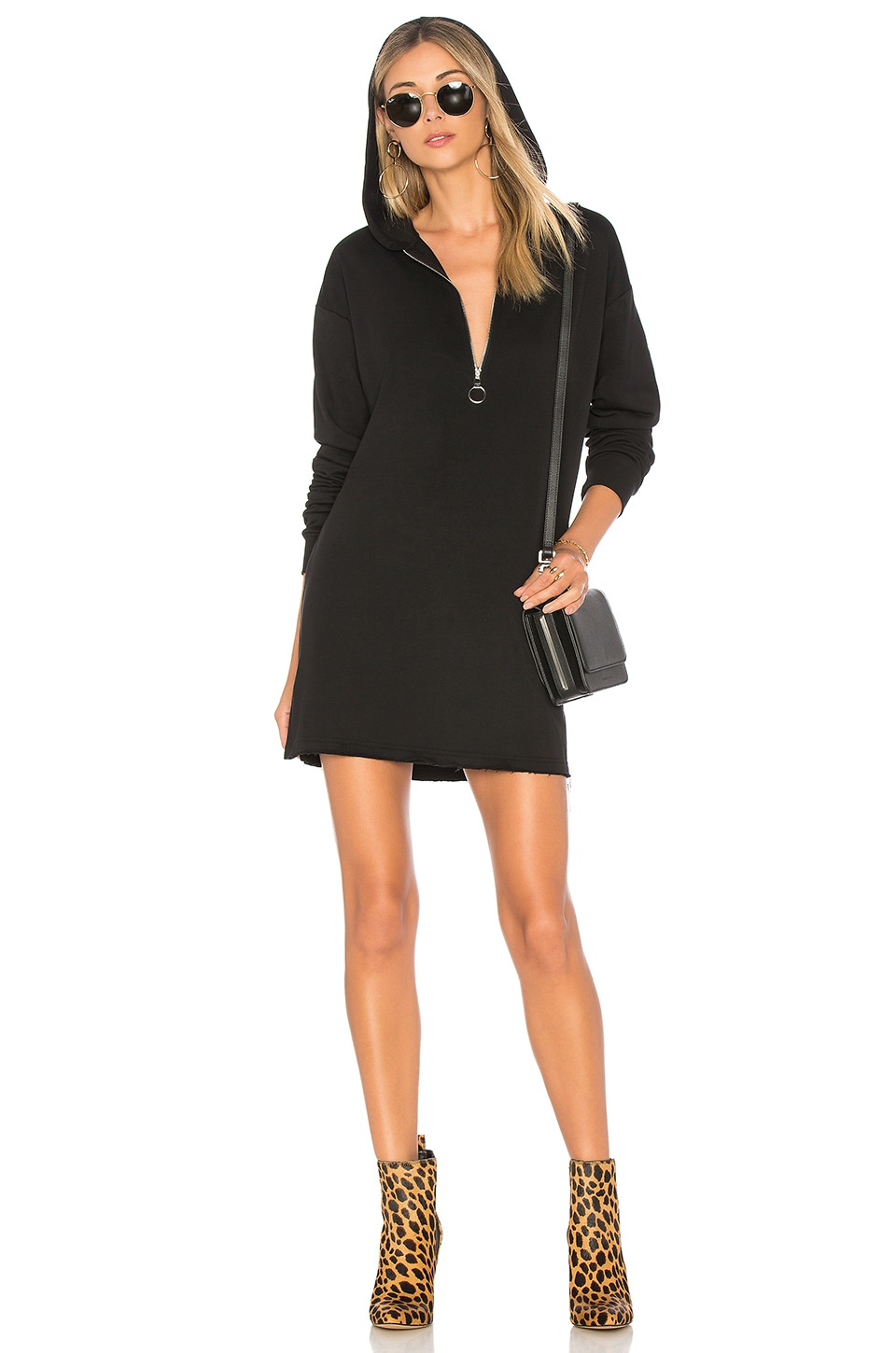 Reyna Hooded Sweater Dress