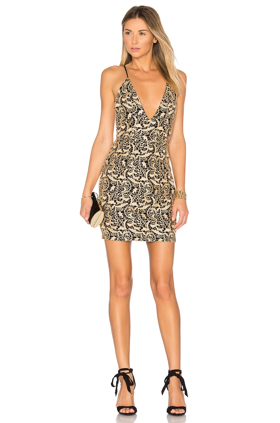 Amari Lace Mini Dress by By The Way.