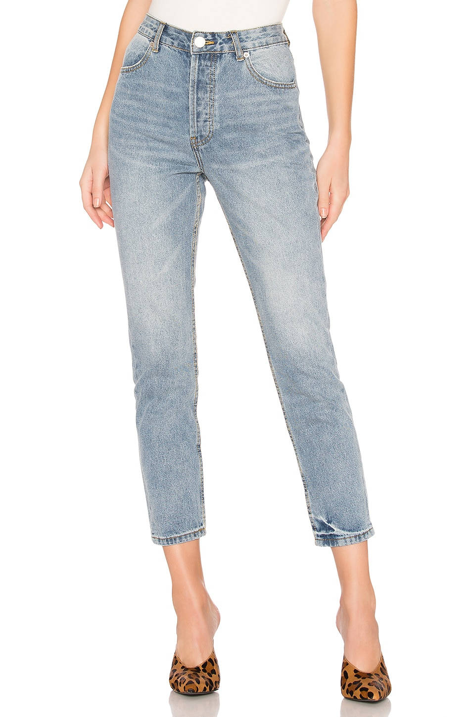 by the way. Demi Skinny Jeans in Vintage Blue Wash