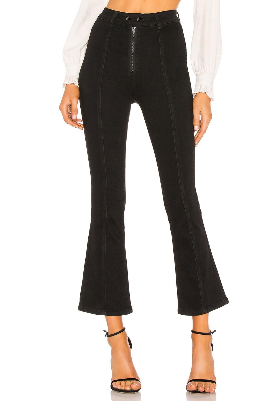 Tina Crop Zip Fly Jean