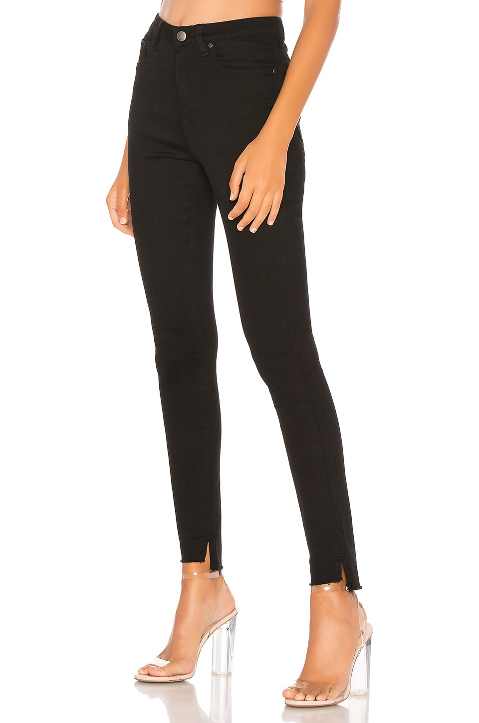 by the way. Tally Step Hem Jeans in Black