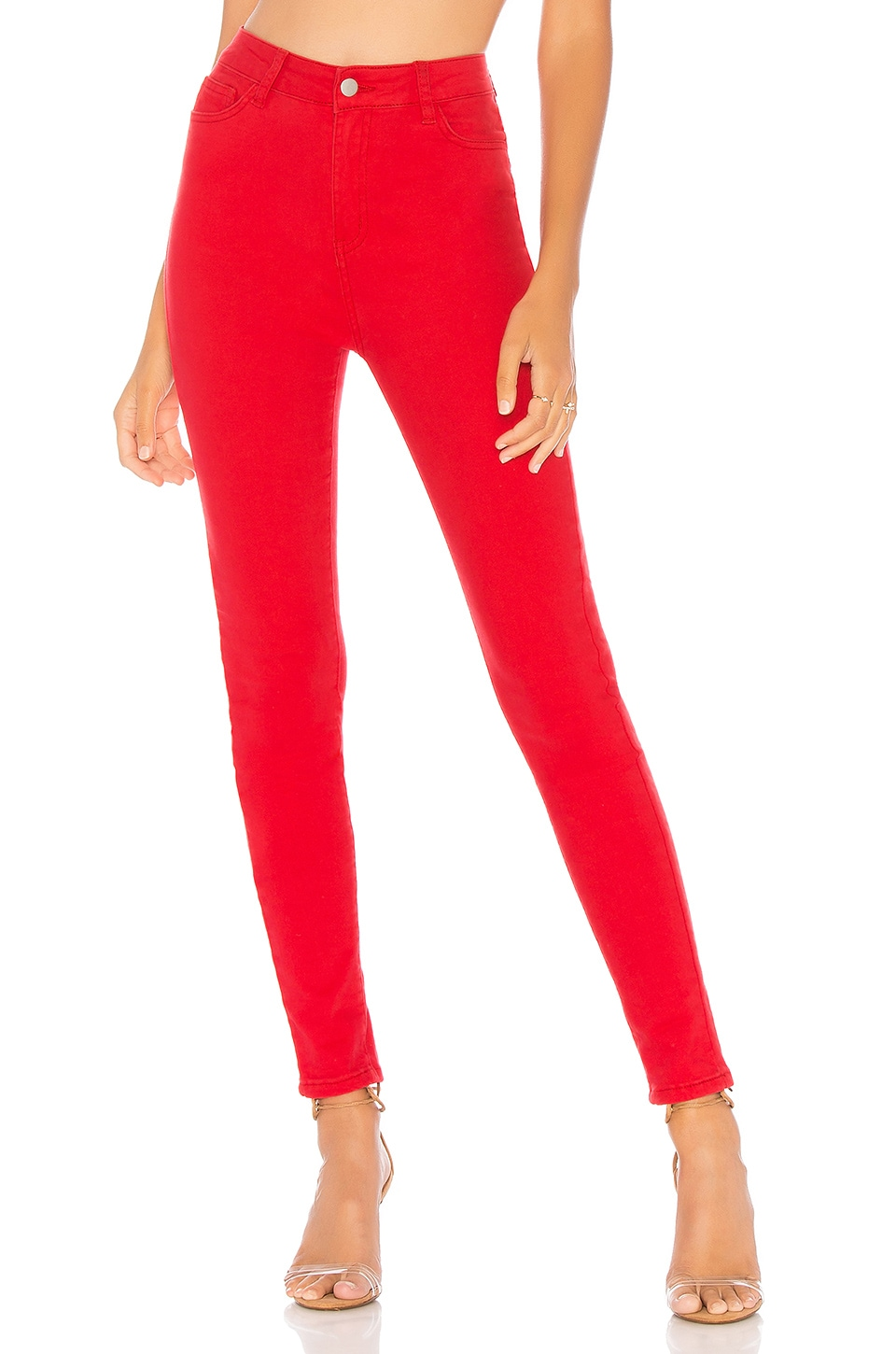 by the way. Ria Skinny Jeans in Red