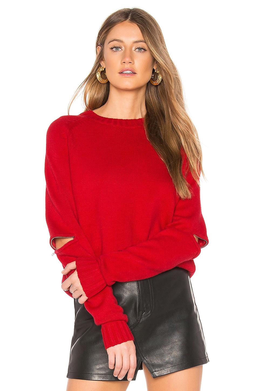 Dominique Zip Sleeve Sweater