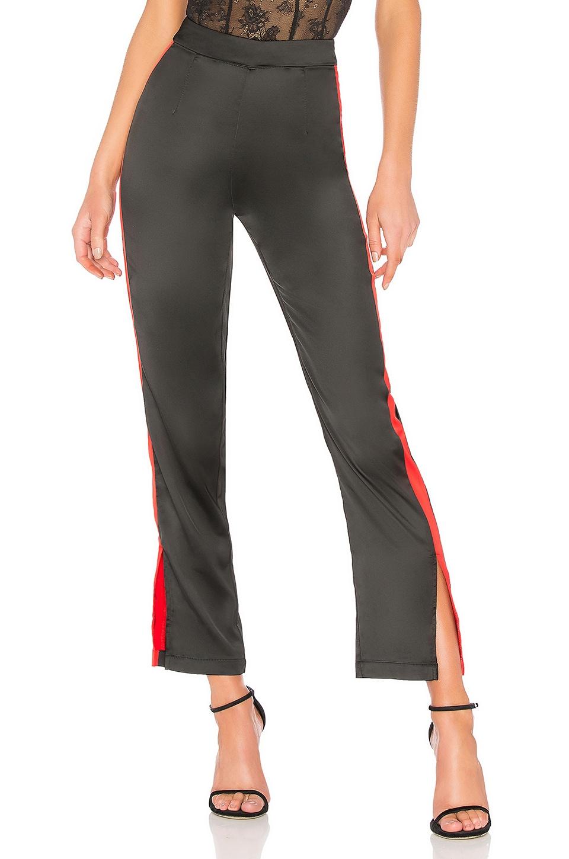 Lynna Side Slit Track Pant