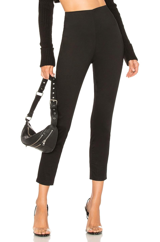 by the way. Maisie Zip Back Skinny Pants in Black