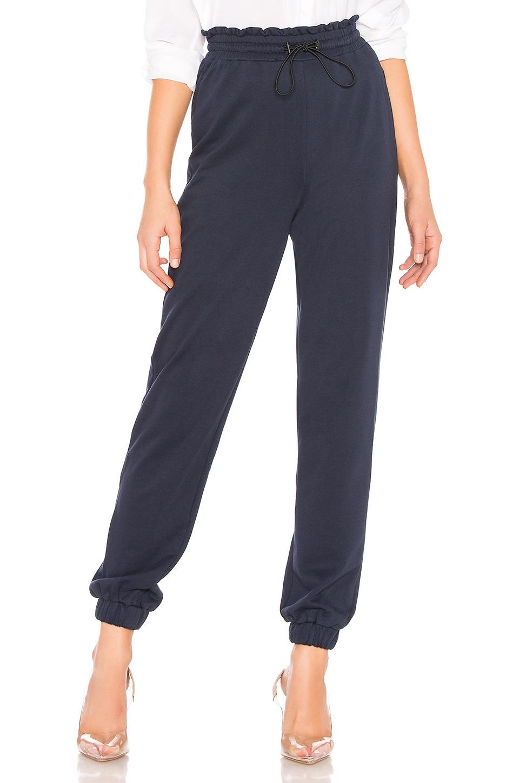 by the way. Josie Tie Waist Sweatpants in Navy